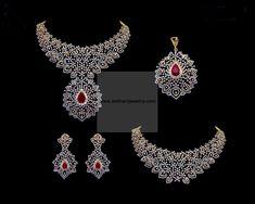 Diamond Necklaces / Chokers - Diamond Jewelry Diamond Necklaces / Chokers (NK345ER2579) at USD 17,925.04