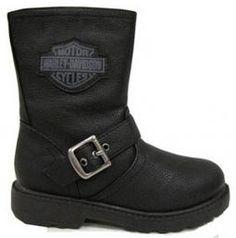 Harley-Davidson® Boys' Polyurethane Biker Boot 4275064 4285064