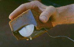 Eerste PC muis zoals die door Engelbart werd ontwikkeld
