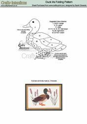 View Mallard Duck Iris Folding Pattern Details