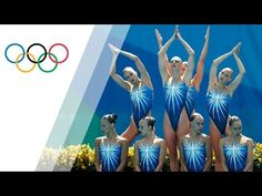 Russia wins Synchronised Swimming team gold - YouTube