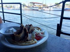 Lunch on the water at Dimitri's in Tarpon Springs