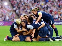 US wins third-straight Olympic gold medal in Soccer!!