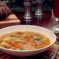 Classic Chicken Noodle Soup by TakingOnMagazines