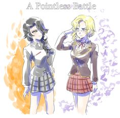 Cinder and Glynda: A Pointless Battle