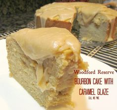 Offering a rich, bold flavor of bourbon, this cake is not for the faint of heart! Woodford Reserve Bourbon Cake with Caramel Glaze Just Desserts, Delicious Desserts, Winter Desserts, Yummy Food, Bourbon Cake, Bourbon Recipes, Sweets Cake, Pound Cake Recipes, Cake