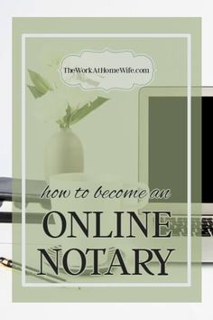 Electronic and online notary needs have increased income opportunities. And the requirements for becoming a notary are very minimal. Earn Money From Home, How To Make Money, How To Become, Become A Notary, Notary Public, Notary Jobs, Mobile Notary, Show Me The Money, Business Planning