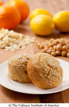 lemon chickpea muffins developed by the Culinary Institute of America, for the Harvard School of Public Health