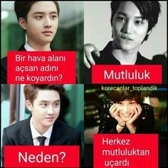 Sırf D. Ridiculous Pictures, Funny Pictures, My Life My Rules, Funny Times, Bts And Exo, Kaisoo, Just For Laughs, Really Funny, Comedy