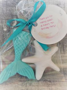 Mermaid Tail and Star Fish Soap Favors: Mermaid theme, Little Mermaid, Baby Shower Favors, Birthday Favors, Baby Sprinkle Favors, Mermaid #babyshowerideas4u #birthdayparty #babyshowerdecorations #bridalshower #bridalshowerideas #babyshowergames #bridalshowergame #bridalshowerfavors #bridalshowercakes #babyshowerfavors #babyshowercakes
