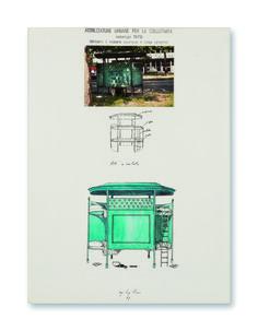 Autoproduzione - Riconversione progettuale (Letti a castello), Ugo La Pietra, 1979, courtesy Archivio Ugo La Pietra / Ugo La Pietra. Interventi urbani / Dall'Austerità alla Partecipazione.