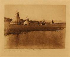 Assiniboin Camp