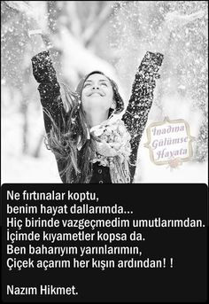 Nazım Hikmet Turkish Sayings, Meaningful Words, True Words, Cool Words, Quotations, Poetry, Couple Photos, My Love, Movie Posters