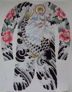 Awesome Tattoos for Men and Women Back Piece Tattoo, Back Tattoo, Body Tattoos, Sleeve Tattoos, Peony Flower Tattoos, Naruto Tattoo, Traditional Japanese Tattoos, Asian Tattoos, Oriental Tattoo