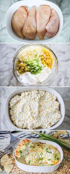 DELICIOUS dinner! We love this recipe! Fiesta Chicken recipe #recipe #chicken #keto #lowcarb #dinner