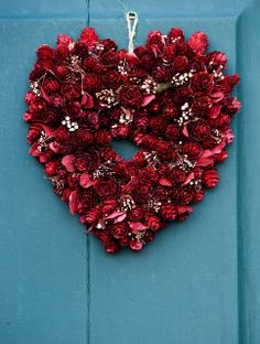Heart wreath.