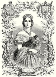 """""""Queen Victoria, 1855."""""""