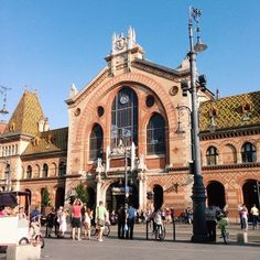 Central Market Hall (Budapest, Hungary)   35 Food Markets Around The World To Put On Your Travel Bucket List