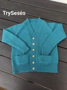 Drops Baby merino Toddler Cardigan, Three Sisters, My Works, Knit Crochet, Knitting, Sweaters, Baby, Fashion, Moda