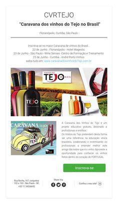 "CVRTEJO""Caravana dos vinhos do Tejo no Brasil""Florianópolis, Curitiba,São Paulo"