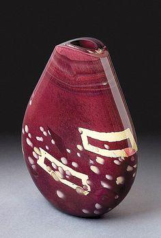 Loft Flat Vase, Solinglass