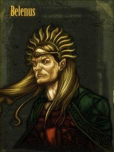 Belenus ( Deus celta do sol e fogo)