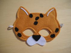 Child Size Leopard Mask