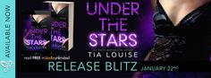 Under The Stars by Tia Louise  Under the Stars the stunning conclusion of the thrilling white-hot second-chance Bright Lights Duet from USA Today bestselling author Tia Louise is LIVE!  Under the Stars  All around us was darkness and night  Im not a hero. Im a survivor.  I had one way out and I took it.  Now all I want is peace  A place to pick up the pieces and start over.  But she wants justice.  Names on a list faces in the crowd.  I vowed to help her but its taking us back to the demons…