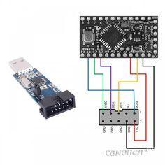 Перезапись загрузчика в Arduino Pro Mini