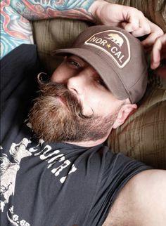 It's a Mans World: Beards & Guts — workingclassguys: Live gay sex Beard And Mustache Styles, Beard No Mustache, Hair And Beard Styles, Great Beards, Awesome Beards, Scruffy Men, Hairy Men, Moustaches, Beard Model