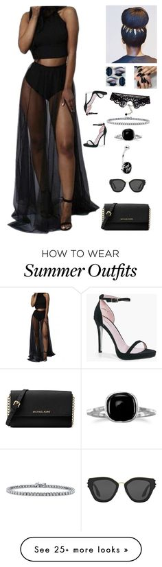 """""""Untitled #495"""" by emmyisamazingly on Polyvore featuring Michael Kors, BERRICLE, BillyTheTree, Boohoo, Prada and WithChic"""