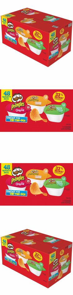 Chips 179179: Pringles Snack Stacks Mix Variety Pack 96 Ct Potato Chips Bulk College Dorm Food -> BUY IT NOW ONLY: $45.62 on eBay!