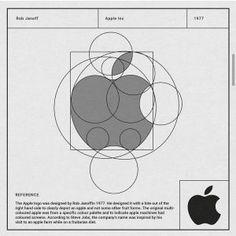 "logogrid: ""Logo grid von Apple (at . Game Logo Design, Brand Identity Design, Design Logos, Graphic Design, Draw Logo, Streetwear, Learning Logo, Branding, Geometric Logo"