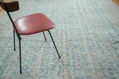 9x12.5 Distressed Oushak Carpet