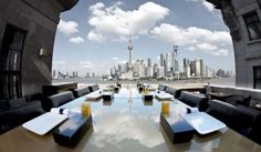 Dine and Wine At The Bund. #Asia #Shangai #China #Sky #Clouds #Resort #Tourism #Travel #Traveling #Trip #eOasia
