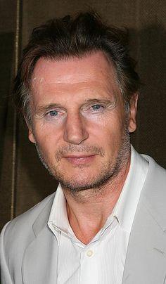 Sexy-Scruffy Liam Neeson