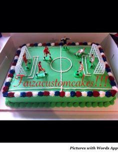 Soccer cake!!
