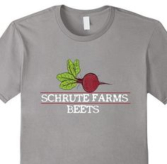 Click the shirt to purchase. Schrute Farms Beets T-Shirt Schrute Farms,office shirt, the office, schrute, farm, farms, dwight, shrute, chrute, mose, bed and breakfast, beat, beats, barbeque, battlestar, gallactica, michael, scott, pam, jim, season, tv, comedy, teefury, nowherebad, shirtpunch, teeraiders, veggies, vegetables, funny, nbc, television, show, beet, beets, rbc, pez, rulez, pezrulez, dwight, the office shirt, dwight shirt, dwight's farm shirt