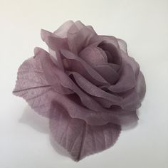 (Our fabrics are stiffened with gum arabic, a and non-toxic natural tree resin) Gum Arabic, Silk Organza, Mauve, Rose, Fabric, Handmade, Fashion, Silk Flowers, Headpieces