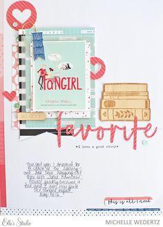 Paper & Print: Elle's Studio: August