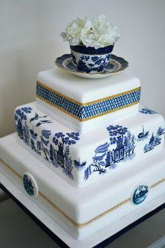 Favorite Blue and White Willow Ware | deborahwoodmurphy
