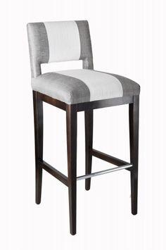 zani bar stool in grey