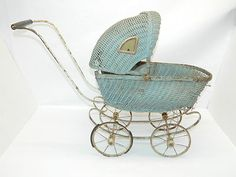 Antique Baby Doll Carriage Buggie