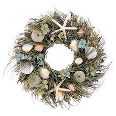 caribbean blue wreath