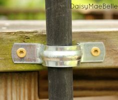 Easy Way to Secure Tiki Torches | daisymaebelle