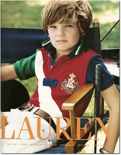 ralph lauren kids | ralph lauren kids gabby ralph lauren winter 08 christy turlington