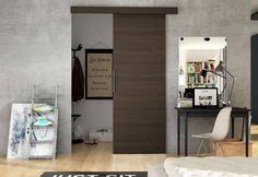Posuvné dvere DOLANO I | Expedo.sk Tall Cabinet Storage, Retro, Bedroom, Inspiration, Furniture, Home Decor, Products, Aluminium, Changing Room