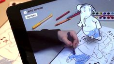 Drawing books are given an augmented reality twist by Disney's Switzerland-based research team.