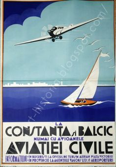 Vintage Travel Posters, Vintage Ads, Ship Paintings, Vintage Graphic Design, Old Signs, Time Travel, Travel Europe, Belle Epoque, Illustrations Posters