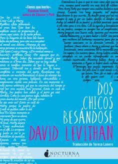 Dos chicos besándose / David Levithan. Nocturna, 2016